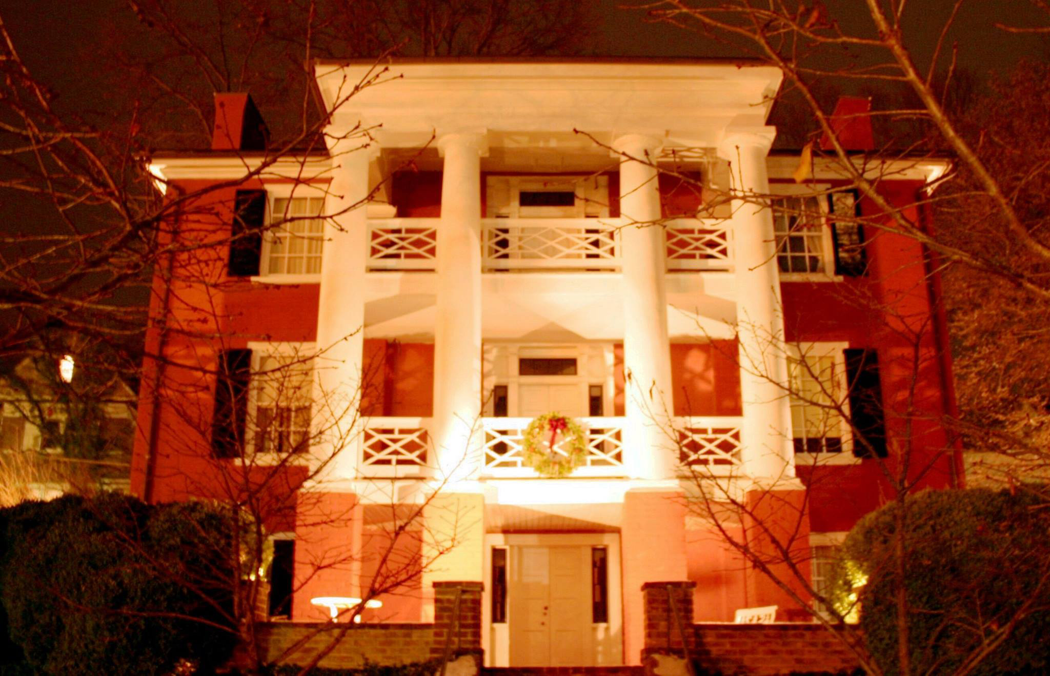 Woodrow Wilson Presidential Library & Museum at Night