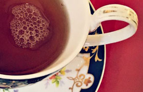 Tea from Anne Hathaway's Cottage Tea Room