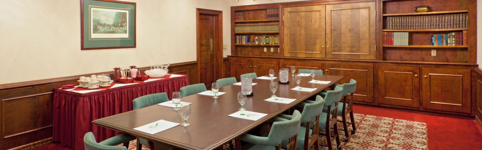 Holiday Inn Staunton meeting room
