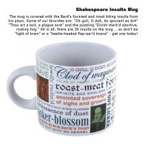 mugs - Shakespeare Insults